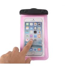 Alta qualidade abs bloqueio pvc saco do telefone móvel à prova d'água (yky7258)