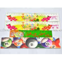 Custom Print Advertising 3D Plastic Ruler for Promotion
