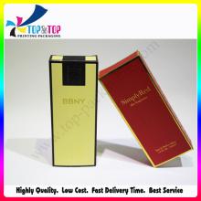 Caja de embalaje de alto grado Caja de perfume masculina de papel de papel