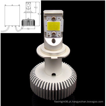 H7 COB 30W branco AC / DC8-28V lâmpada LED substituível para carro