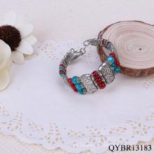 Pulseira popular de 2013 para mulheres encantos para pulseira