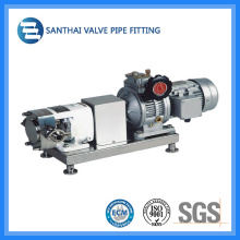 Zb3a-3 0.55kw Stainless Steelsanitary Rotary Lobe Pump