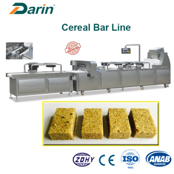 Cereal Bar Machine uitgerust koeling en maaisysteem
