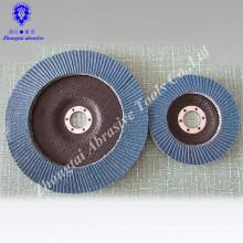 Super high quality zirconia blue flap disc