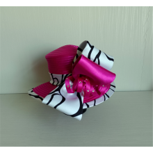 Stain Ribbon Bow Millinery Church Hats For Banquet
