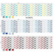 Tissu imprimé par pigments de conception de mode de vente en gros