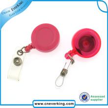 Low Price Custom Design Pull Badge Reel with Clip