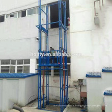 20m 30tons guide rail elevator lift,elevator freight lift,vertical hydraulic cargo lift