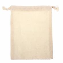 High density canvas cotton linen dust cover bag for textile dust bag reusable bag