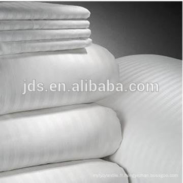 Tissu blanc coton / polyester