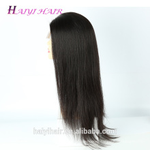Latest Fashion Cheap 100 Human Indian Women Hair Wig Double Drawn Full Lace Wig