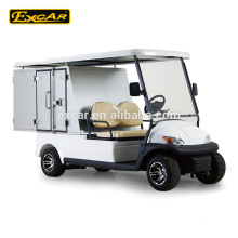 2 Seater Electric Golf Cart With Hotel Cargo Box
