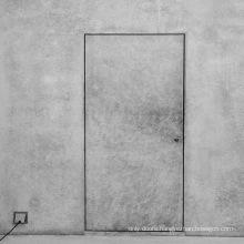 New simple design wooden door interior door invisible door for bedroom