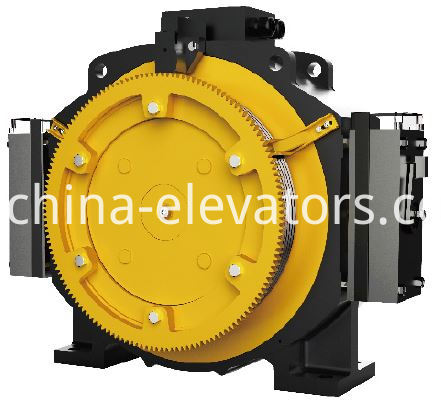 Passenger Elevator PM Gearless Traction Machine