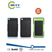 Cargador solar portable del banco de la energía del USB 6000mAh mini