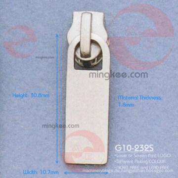 Nickel Zipper Puller / Slider (G10-232S)