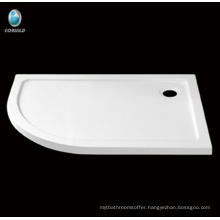 bathroom design shower tray , acrylic with fiberglass shower base