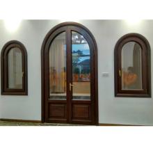 CE certificate foshan manufacturer modern exterior door with glass