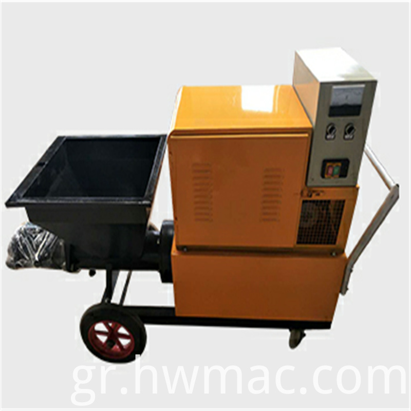 mortar sparying machine