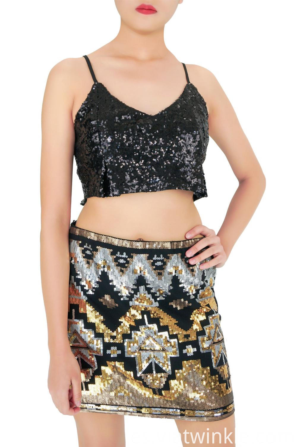 Eve Party Sequin Skirts