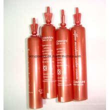 Tube rouge pour le œil crème Tubes Packaging, Twist-off