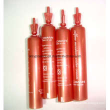 Red Tube for Eye Cream Packaging, Twist-off Tubes