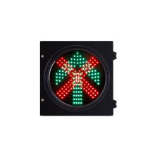 Semáforo verde vermelho do diodo emissor de luz do veículo de 300mm 12V