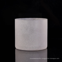 570ml Frosted Glass Candle Holders for Home Fragrance