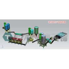 Autoclaved lime-sand brick production line