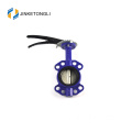"JKTLWD010 triple cast iron 14 ""butterfly valve"