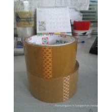 Tan de ruban d'emballage de l'industrie d'emballage 48X100X45mic