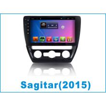 Android System Car GPS para Sagitar con reproductor de DVD de coches Tracker