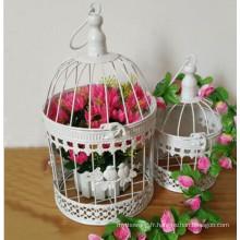 Cage d'oiseaux en métal à chaud pour décoration de jardin