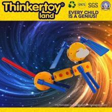 Дешевые 2015 новых пластиковых животных автомобилей игрушки детские строительные игрушки