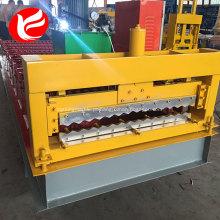 Máquina de prensagem de painéis de alumínio corrugado