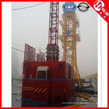Grua de construção elétrica Sc200 de gaiolas duplas para venda