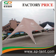 Pop up Star Shade canopy tents imprimé dans toutes les couleurs pour l'extérieur shleter ombre et marque logo