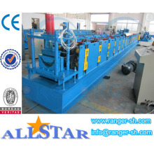Shanghai Allstar Square Rain Gutter Roll Forming Machine