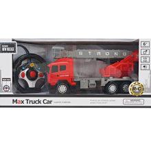 Quatro Caminho Light Remote Controle Fire Truck Toy
