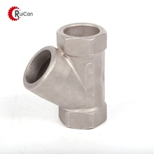 architectural hardware 3-way pipe joint for staircase