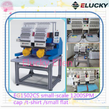Elucky Two Heads Embroidery Machine With SGS,CE