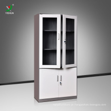 Armário do armário do armário do furniture do escritório de 4 portas armário de arquivo do aço do armário do furniture