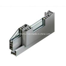 Гладкая ползунка Раздвижные алюминиевые окна и двери