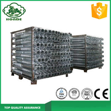 Galvanized Ground Screw Untuk Sistem Panel Surya