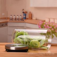 custom logo new design 32 oz glass jar with stainless steel lid  glass food jar