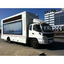 BJ5129XXY-FB llevó publicidad camión (Euro IV motor)