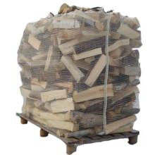 Cheap Wholesale Breathable Firewood Bulk Mesh PP Big Bag For Packing Wood Bulk Ventilated Firewood Storege Bags