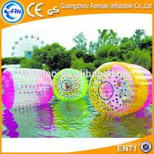 Custom made tanques de água inflável gigante, bolas de água infláveis, rolo de água inflável