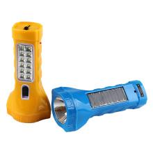 Lampe de poche solaire à LED multifonction