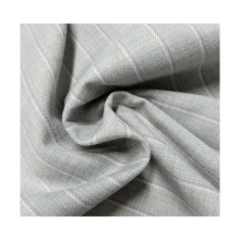 high quality woven TR polyester rayon spandex thick stripe shirt fabric for clothing material